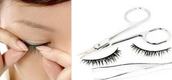 ใช้ขนตาปลอมอย่างไรให้ปลอดภัย